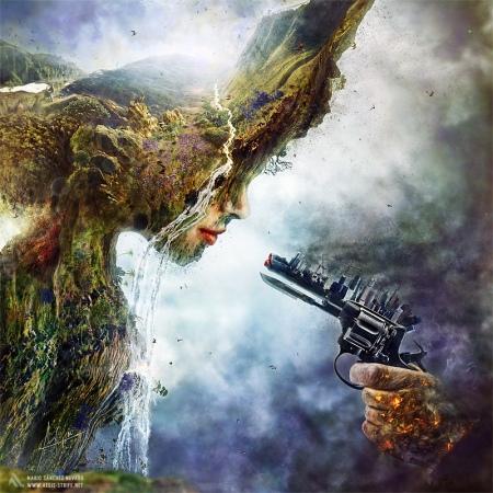 'Betrayal', ilustración del calentamiento global (2012) / foto: aegis-strife.net